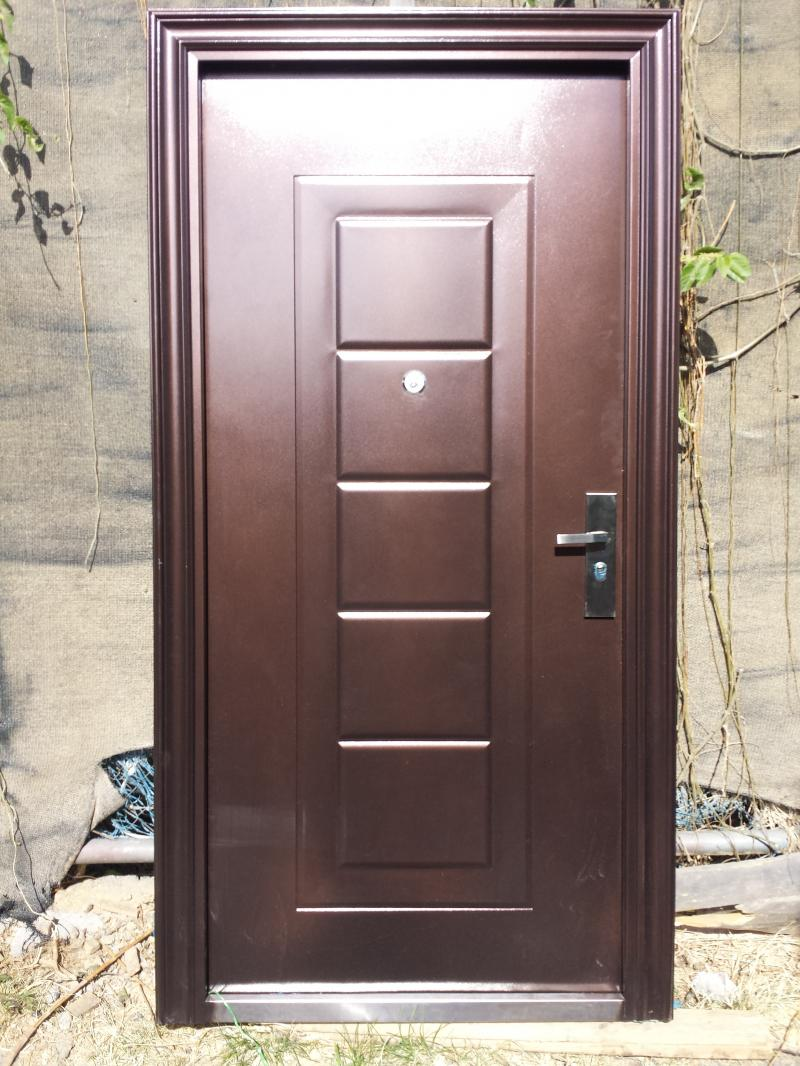 Puertas metalicas de exterior latest bgslowes metal doble for Puertas metalicas